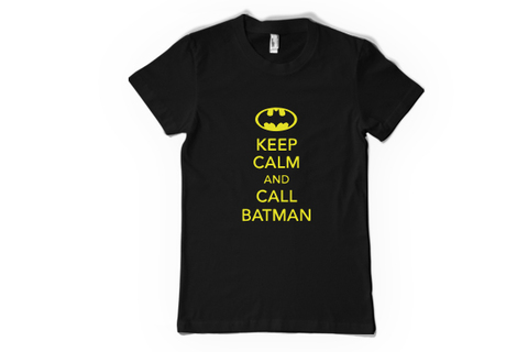 Remera Keep Calm and call Batman