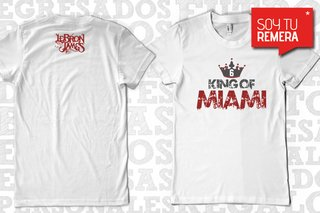 Remera Lebron James - King Of Miami