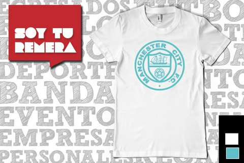 Remera Barcelona / Manchester City / Manchester United - comprar online