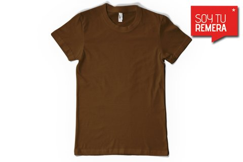 Remera Lisa marron - comprar online