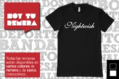 Remera Nightwish