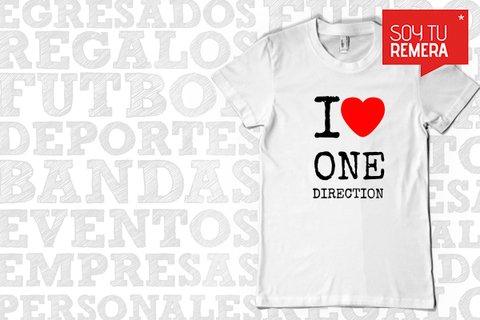 Remera One Direction