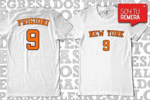 Remera New York Knicks - Pablo Prigioni Basket