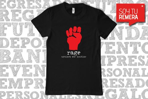 Remera Rage Against the Machine