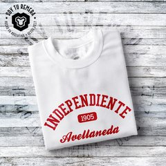 Remera Independiente Origen