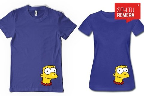 Remera Marge Simpson