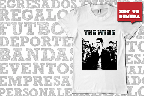 Remera The Wire 2