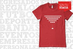 Remera Space Invader