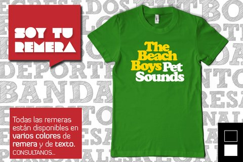 Remera The Beach Boys