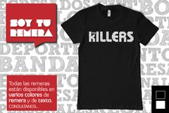 Remera The Killers - comprar online