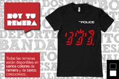 Remera The Police