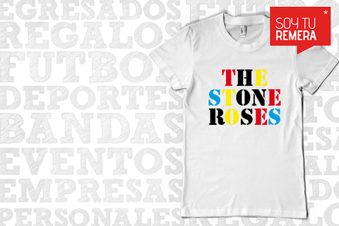 Remera The Stone Roses  - comprar online