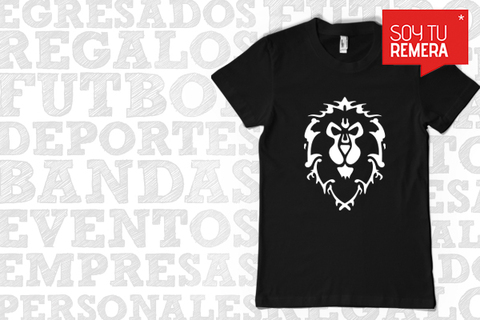 Remera Warcraft Lion