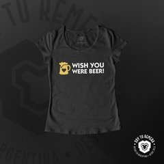 Remera Wish you were beer - comprar online