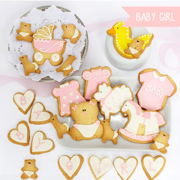 PREMIUM PINK BABY SHOWER PARTY BOX - comprar online