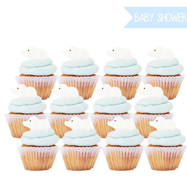 BABY BLUE CUPCAKES  - Flo Pastisserie