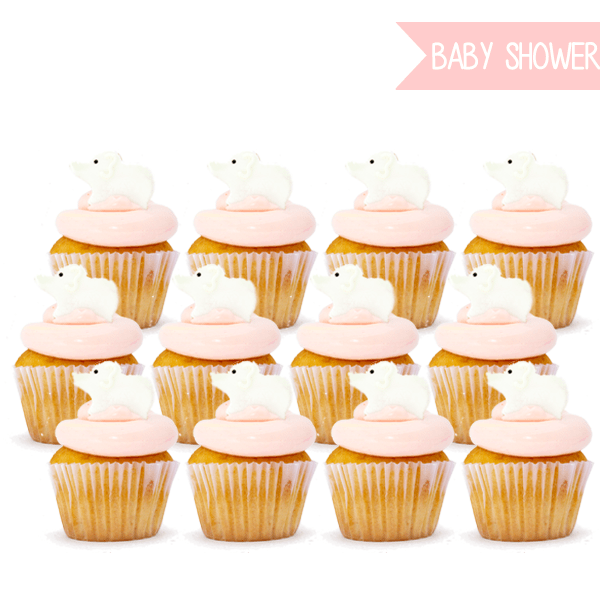 BABY PINK CUPCAKES - Flo Pastisserie