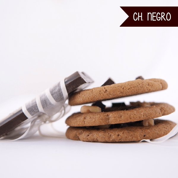 Cookies de Chocolate Negro