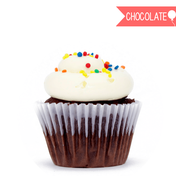 CHOCOLATE B-DAY CUPCAKES - comprar online