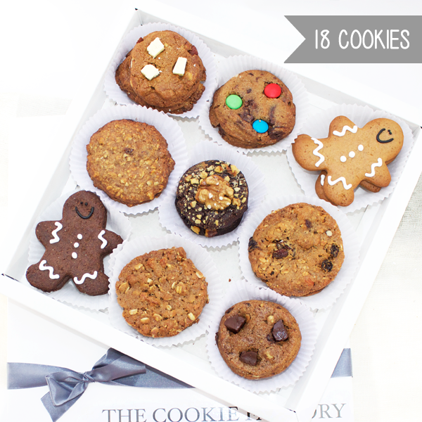 Collection Cookie Box x 18 en internet