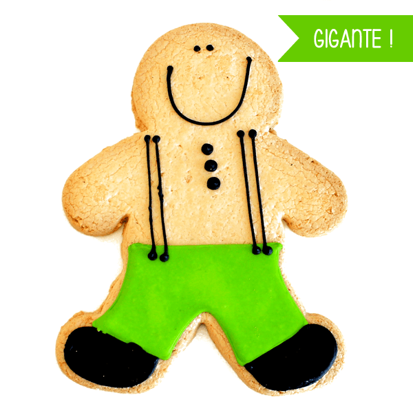 Cookie Ginger Gigante en internet