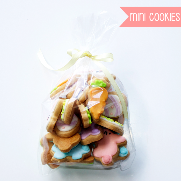 Mini cookies de Pascuas x 20 u. en internet
