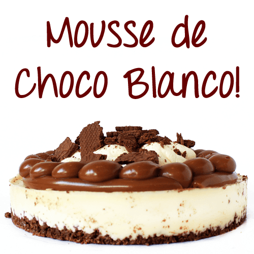Torta Mousse de Chocolate Blanco en internet