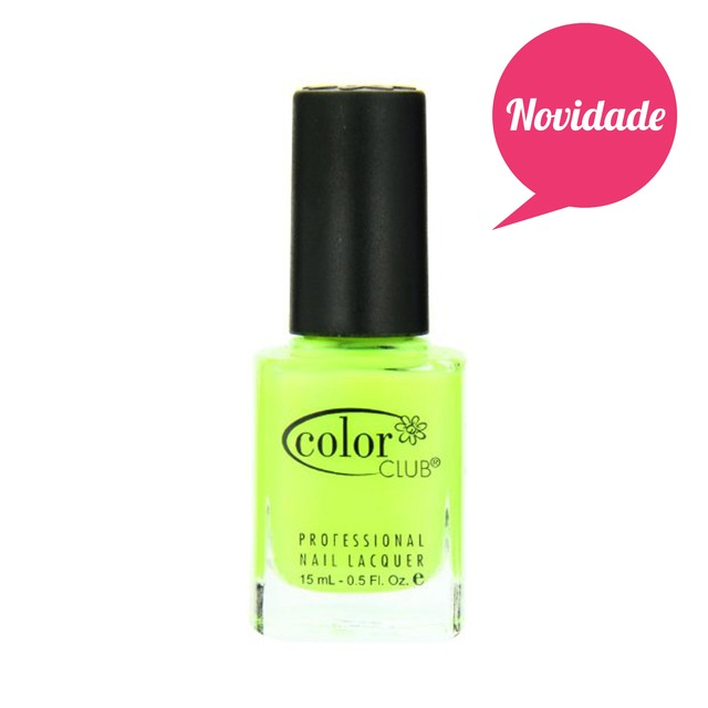 Esmalte Color Club AFN01 Get Your Lem-On