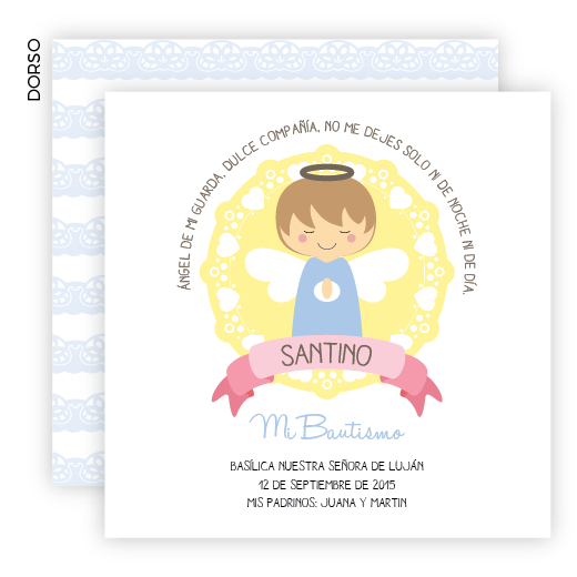 Angelito Love de la Guarda Box Bautismo - comprar online