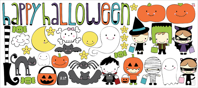 Happy Halloween - vinilo decorativo - comprar online
