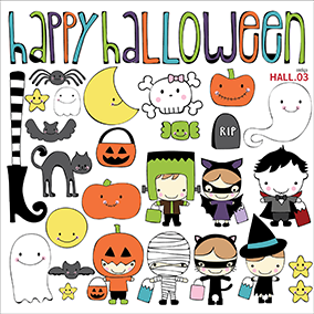 Happy Halloween - vinilo decorativo