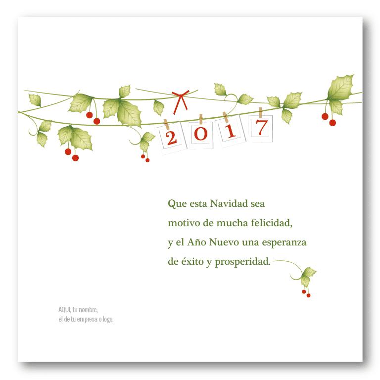 clip card tarjetas para navidad y fin de ao