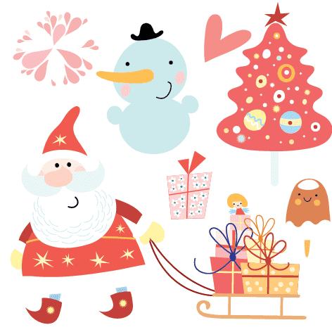 bonita navidad stickers gigantes en vinilo para decorar comprar online
