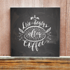 Coffee Lettering - After Coffee - Cuadro - comprar online