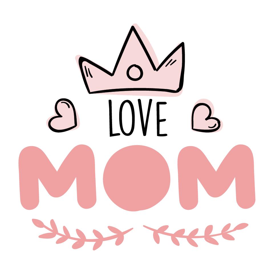 I Love Mom 3 Cartel En Vinilo De Corte D 237 A De La Madre