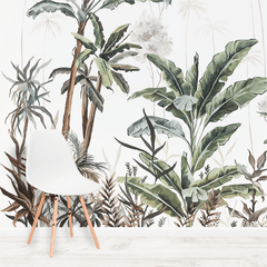 Tropical Jungla - Mural