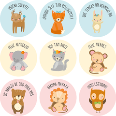Lunch Box Stickers - tienda online