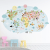 Mundo Animal - Vinilo Decorativo - comprar online