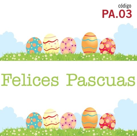 Garden Easter - Vinilo Decorativo Pascuas
