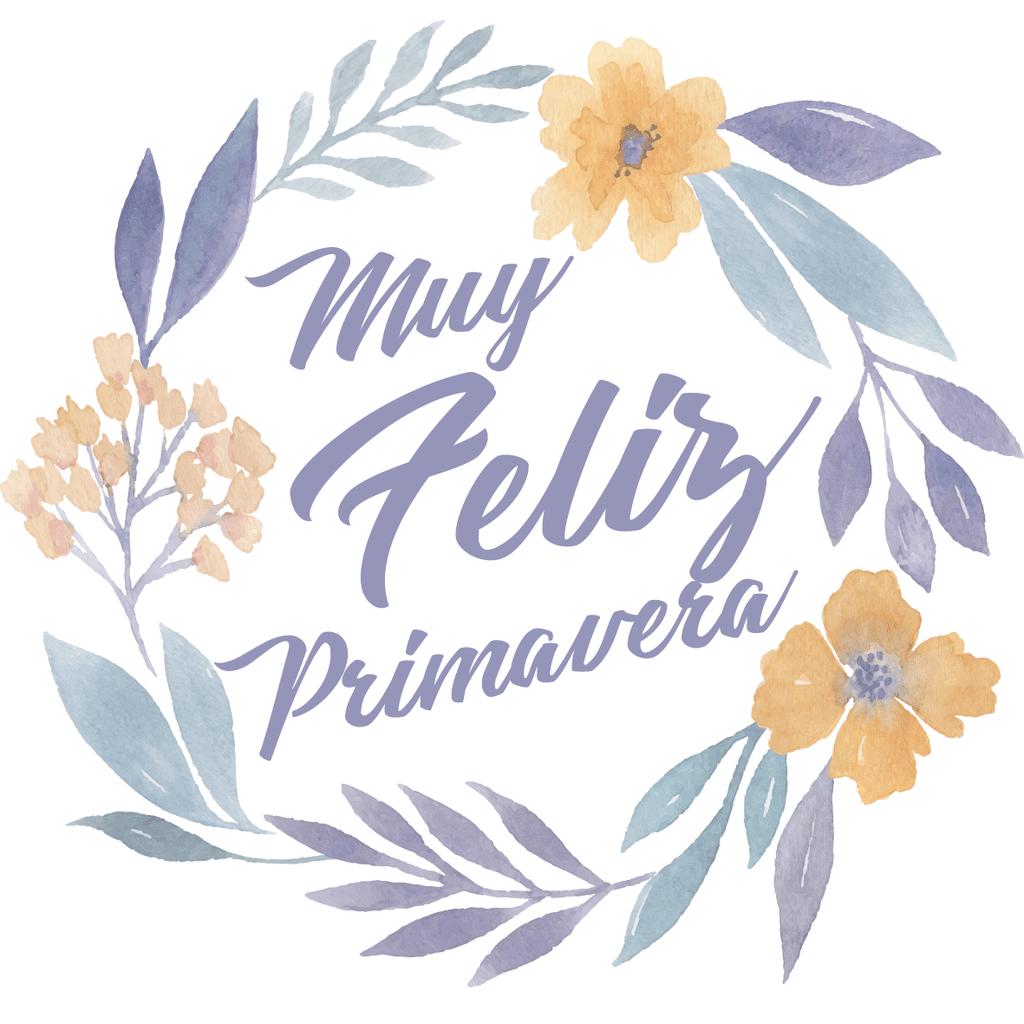 d1ed46bb9 Dreamy Floral - Cartel en Vinilo Primavera