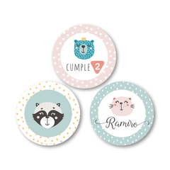 Smile Animal - Kit Fiesta - Gráfica 21