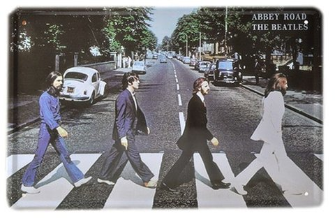 Cartel The Beatles