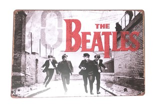 Cartel The Beatles New
