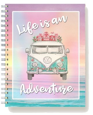 Cuaderno Anillado Life is an Adventure