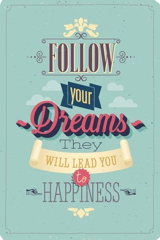 Cuaderno Follow Dreams