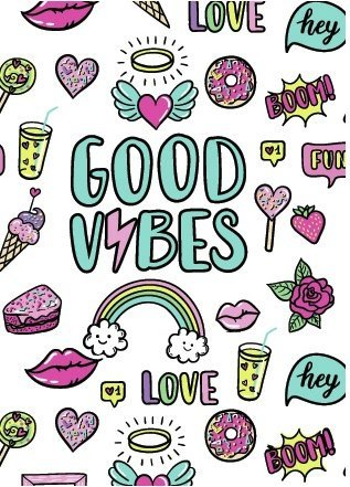 Cuaderno Good Vibes