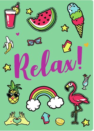 Cuaderno Relax