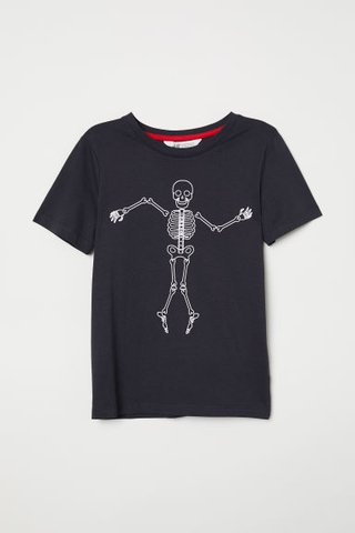 Camiseta Skeleton H&M London