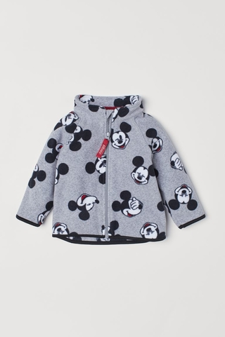 Jaqueta Fleece Mickey Mouse H&M London