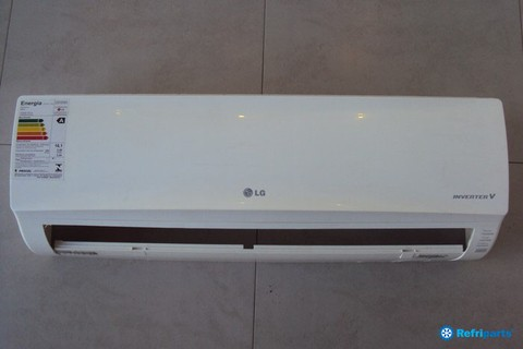 PAINEL FRONTAL COMPLETO LG ASNQ092WSAO capacidade 9.000 BTU´s